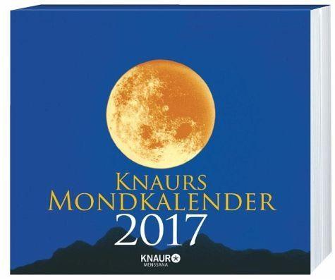 Kalender »Knaurs Mondkalender 2017«