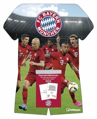 Kalender »FC Bayern München 2017 Tagesabreißkalender«