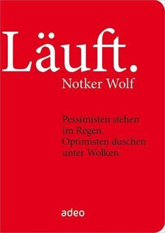 Gebundenes Buch »Läuft.«