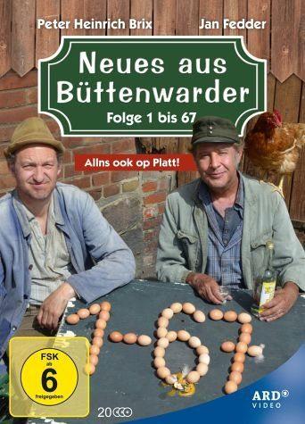 DVD »Neues aus Büttenwarder - Folge 1 bis 67 (20...«