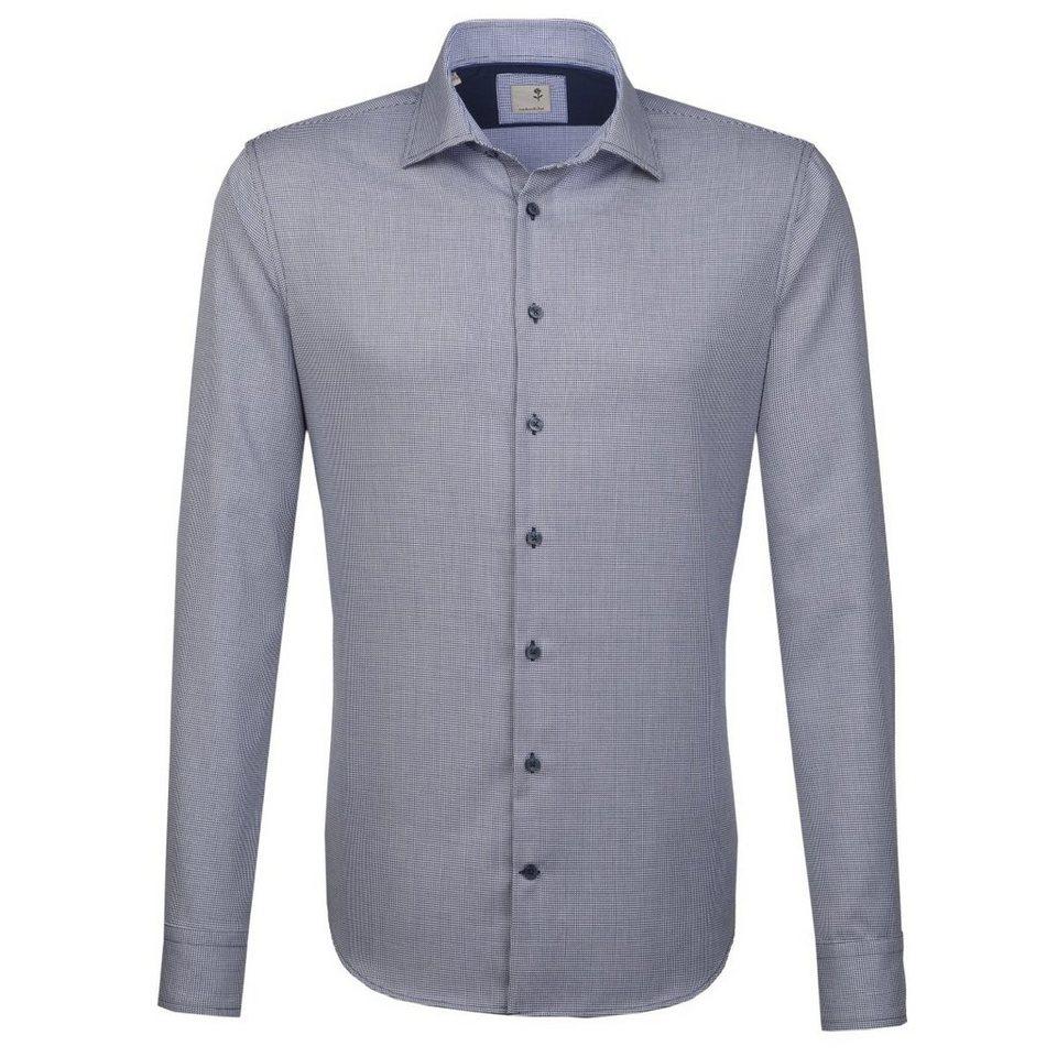 SEIDENSTICKER Businesshemd »Tailored« in blau