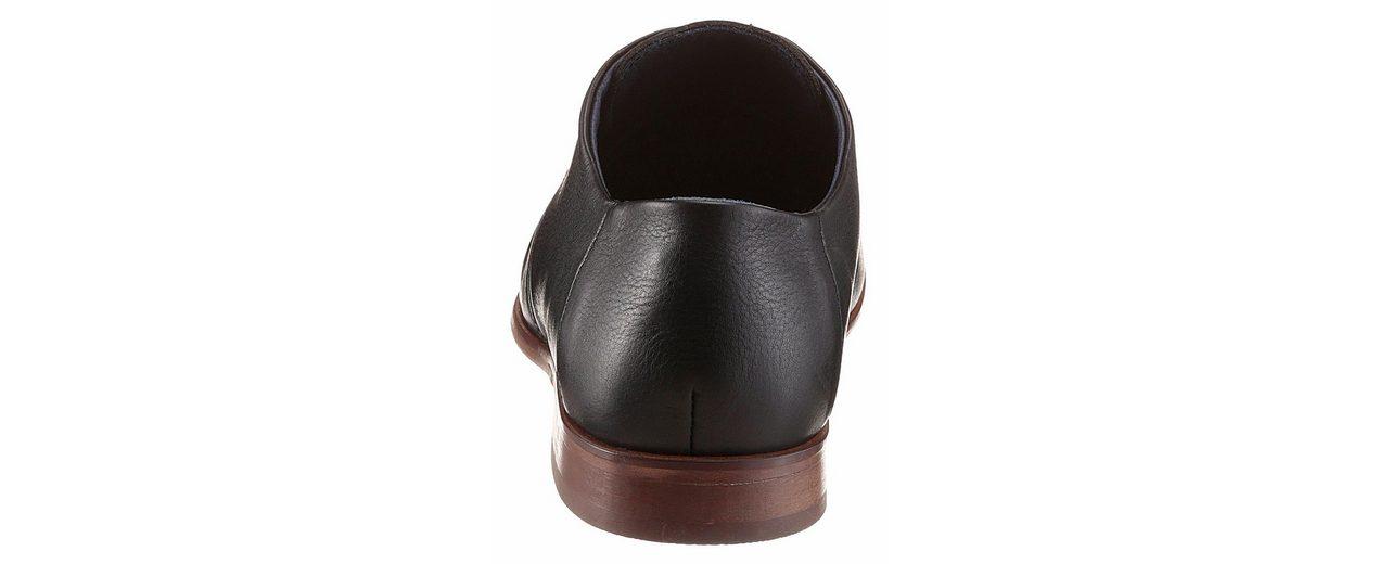 PETROLIO Schnürschuh, passt gut zu Anzug und Hemd