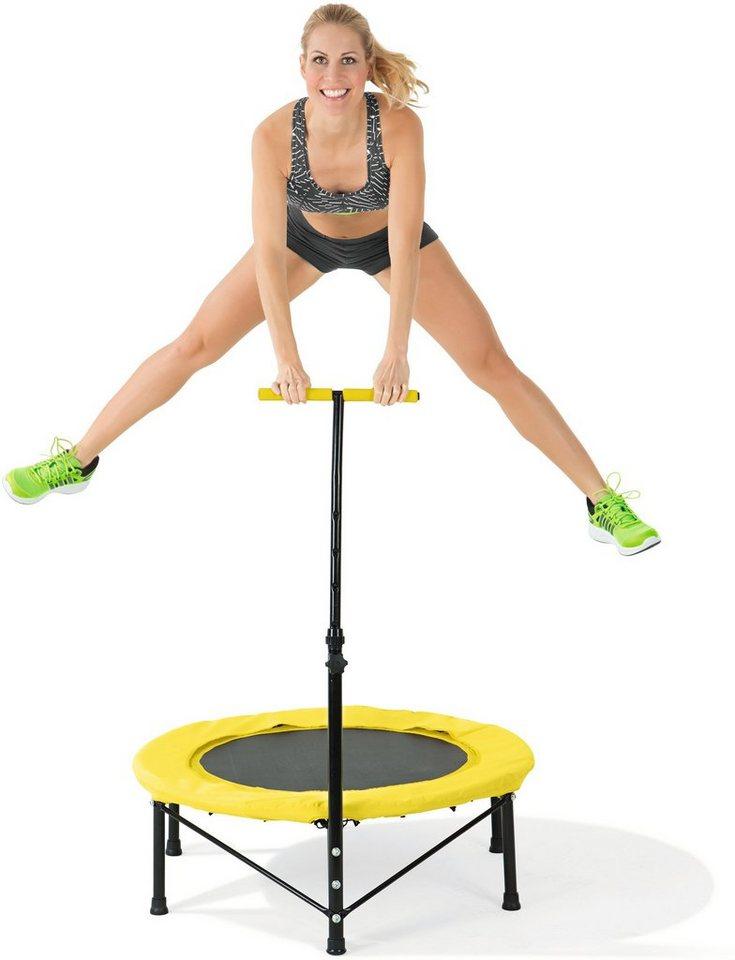 Vitalmaxx Fitnesstrampolin in schwarz-gelb