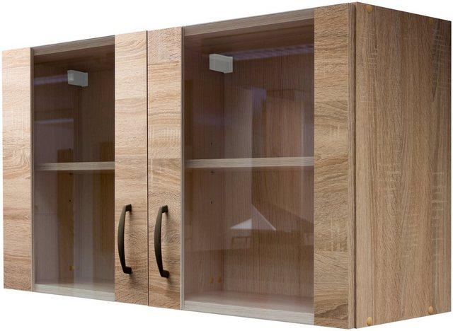 Küchenschränke - Glas Küchenhängeschrank »Bergen«, Breite 100 cm  - Onlineshop OTTO
