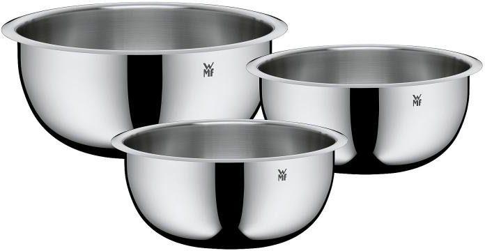 WMF Küchenschüssel-Set, »FUNCTION BOWLS« (3tlg.), Cromargan® Edelstahl Rostfrei 18/10