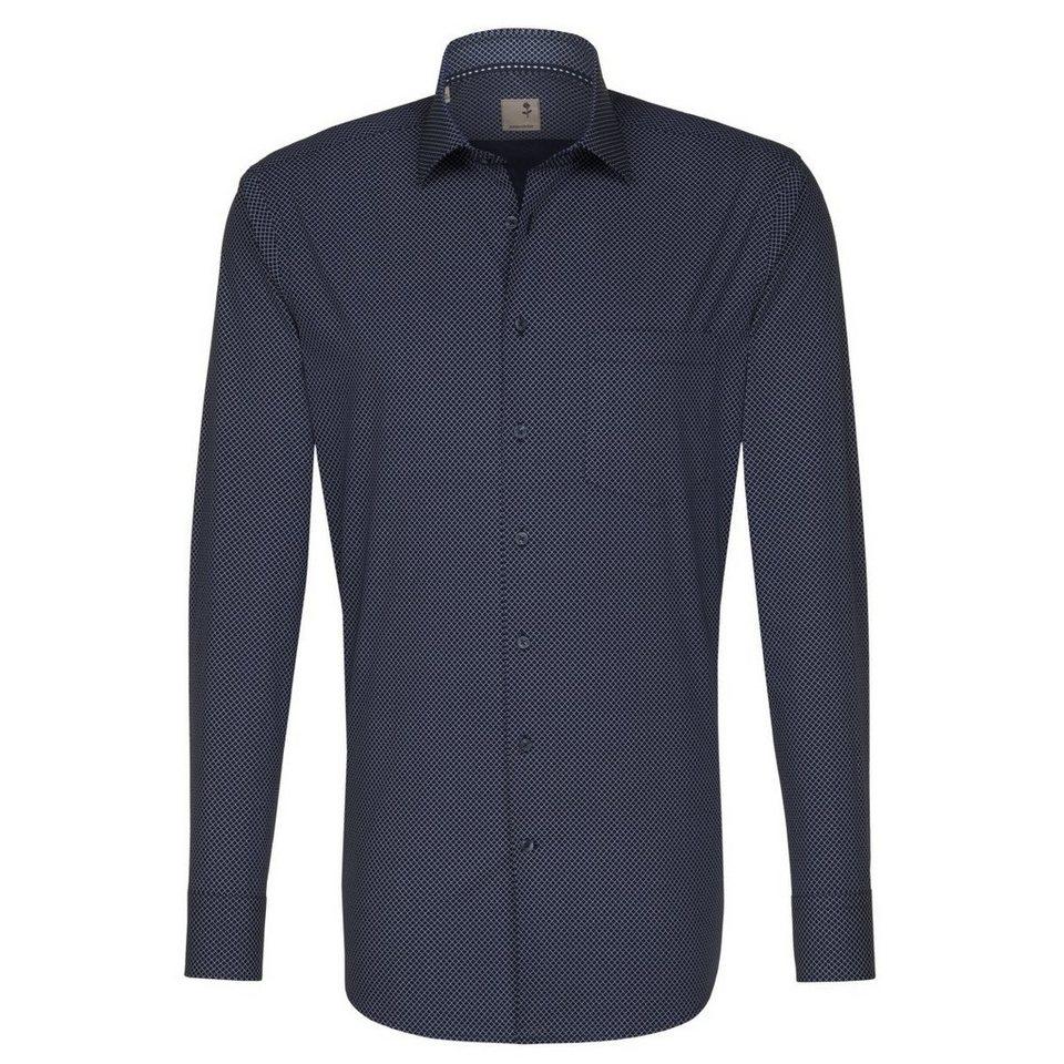SEIDENSTICKER Businesshemd »Tailored« in dunkelblau
