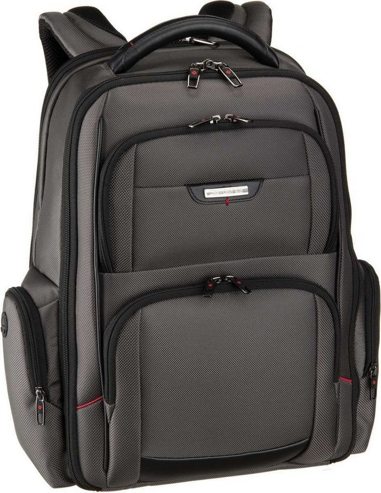 "Samsonite Pro-DLX 4 Laptop Backpack 3V 15.6"" in Magnetic Grey"