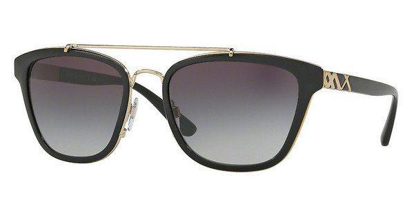 BURBERRY Burberry Damen Sonnenbrille » BE4240«, schwarz, 30018G - schwarz/grau
