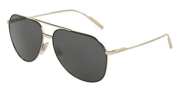 DOLCE & GABBANA Dolce & Gabbana Herren Sonnenbrille » DG2166«, schwarz, 130587 - schwarz/grau