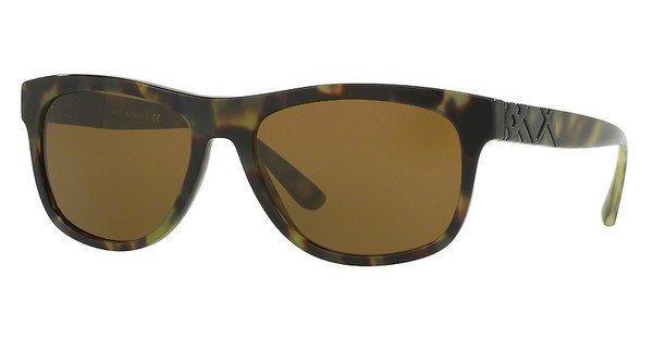 Burberry Herren Sonnenbrille » BE4234« in 328073 - grün/braun