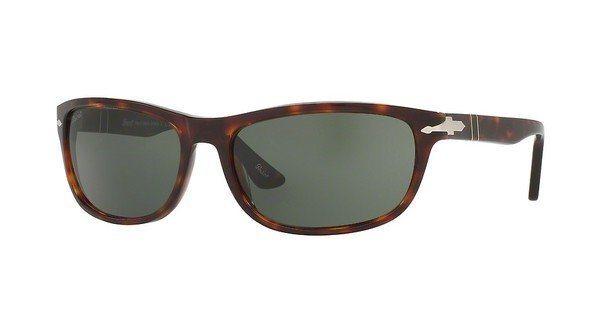 Persol Herren Sonnenbrille » PO3156S« in 24/31 - braun/grün