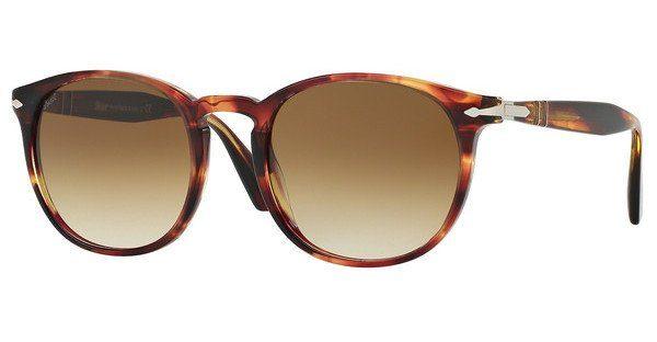 PERSOL Persol Herren Sonnenbrille » PO3157S«, braun, 105551 - braun/braun