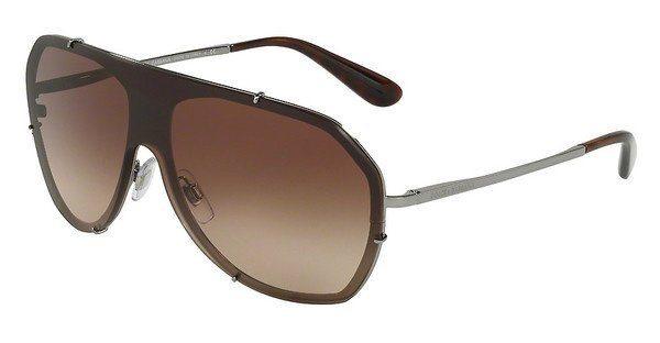 DOLCE & GABBANA Dolce & Gabbana Damen Sonnenbrille » DG2162«, grau, 04/13 - grau/braun