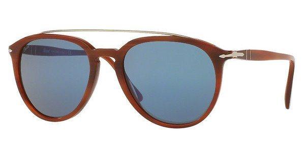 Persol Herren Sonnenbrille » PO3159S« in 904656 - braun/blau