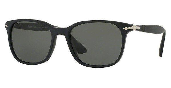 PERSOL Persol Herren Sonnenbrille » PO3164S«, schwarz, 900058 - schwarz/grün