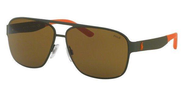 Polo Herren Sonnenbrille » PH3105« in 932173 - grün/braun