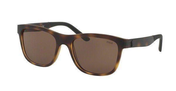 Polo Herren Sonnenbrille » PH4120« in 560273 - braun/braun