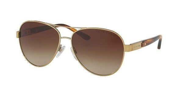 Ralph Lauren Damen Sonnenbrille » RL7054Q« in 911613 - gold/braun