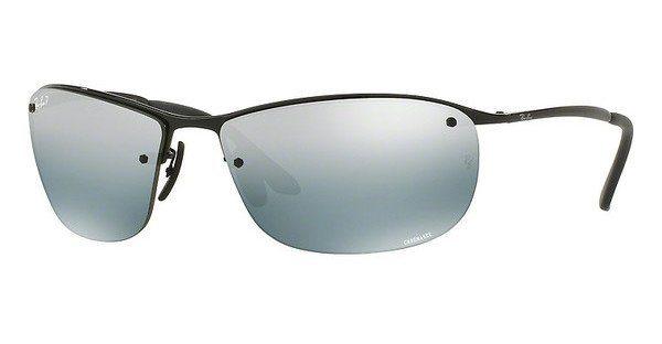 RAY-BAN Herren Sonnenbrille » RB3542« in 002/5L - schwarz/silber