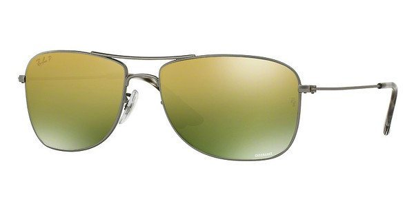 RAY-BAN Sonnenbrille » RB3543« in 029/6O - grau/gold