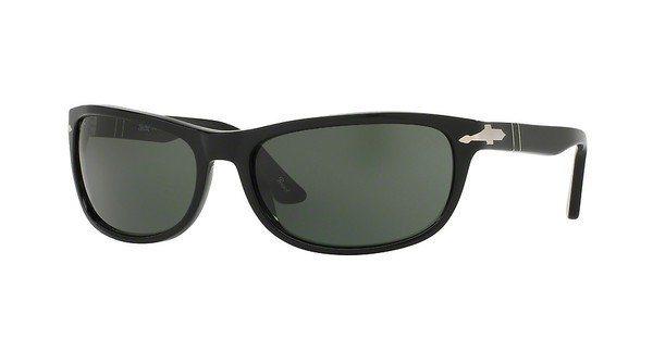 Persol Herren Sonnenbrille » PO3156S« in 95/31 - schwarz/grün