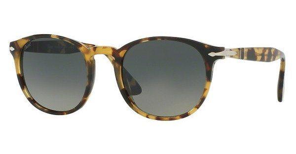 Persol Herren Sonnenbrille » PO3157S« in 105671 - braun/grau