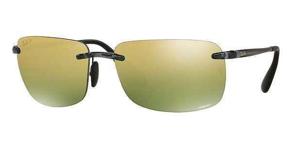 RAY-BAN Herren Sonnenbrille » RB4255« in 621/6O - grau/gold