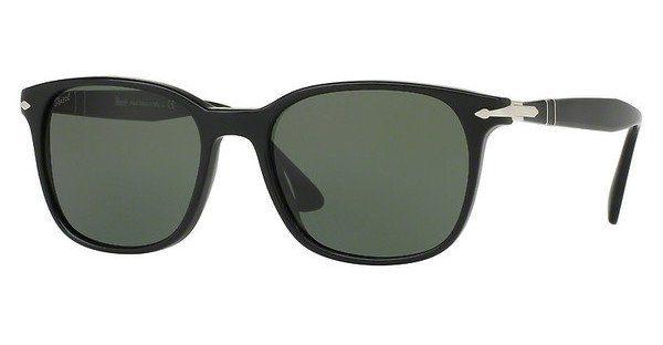 PERSOL Persol Herren Sonnenbrille » PO3135S«, schwarz, 95/31 - schwarz/grün