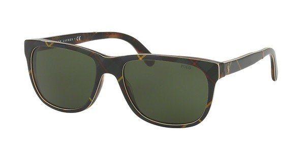 Polo Herren Sonnenbrille » PH4116« in 562571 - braun/grün