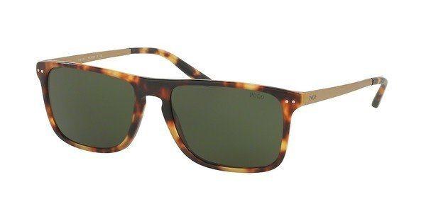 Polo Herren Sonnenbrille » PH4119« in 535171 - braun/grün