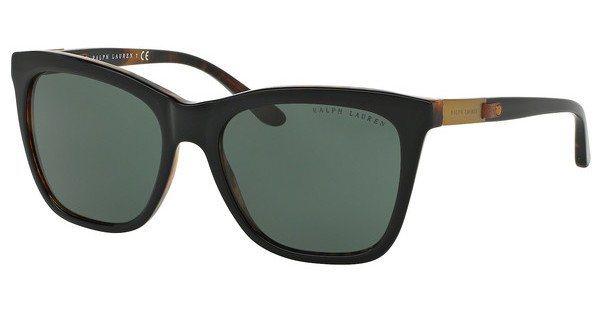 Ralph Lauren Damen Sonnenbrille » RL8151Q« in 526071 - schwarz/grün
