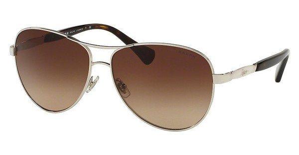 Ralph Damen Sonnenbrille » RA4117« in 317913 - silber/braun