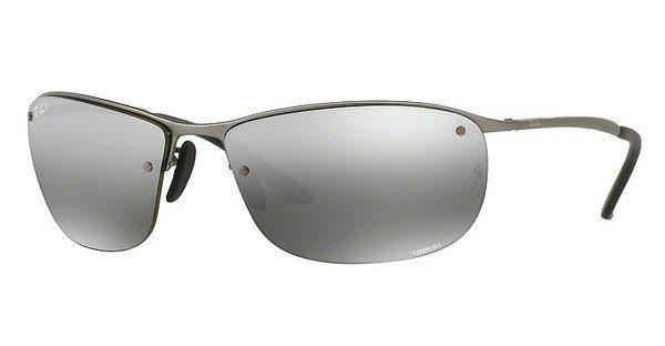 RAY-BAN Herren Sonnenbrille » RB3542« in 029/5J - grau/silber