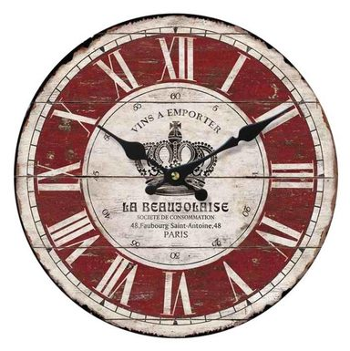 Home affaire Wanduhr »La Beaujolaise«