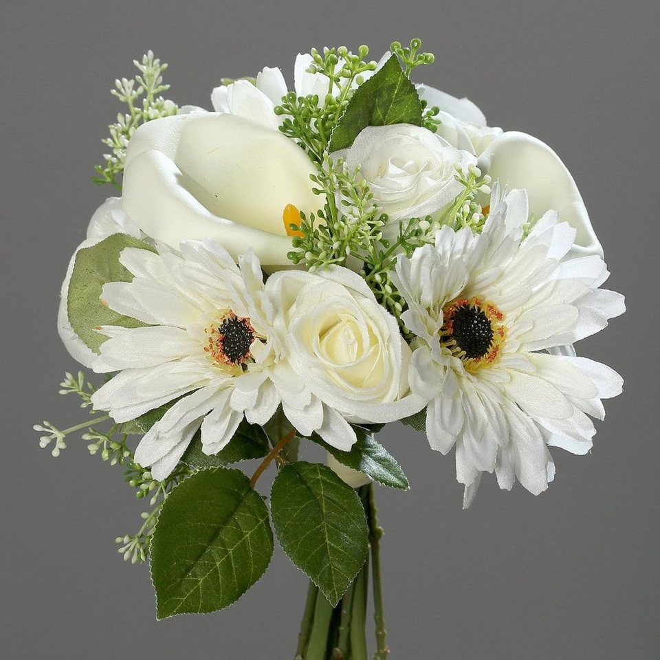 Home affaire Kunstpflanze »Gerbera-Calla-Bouquet« in creme