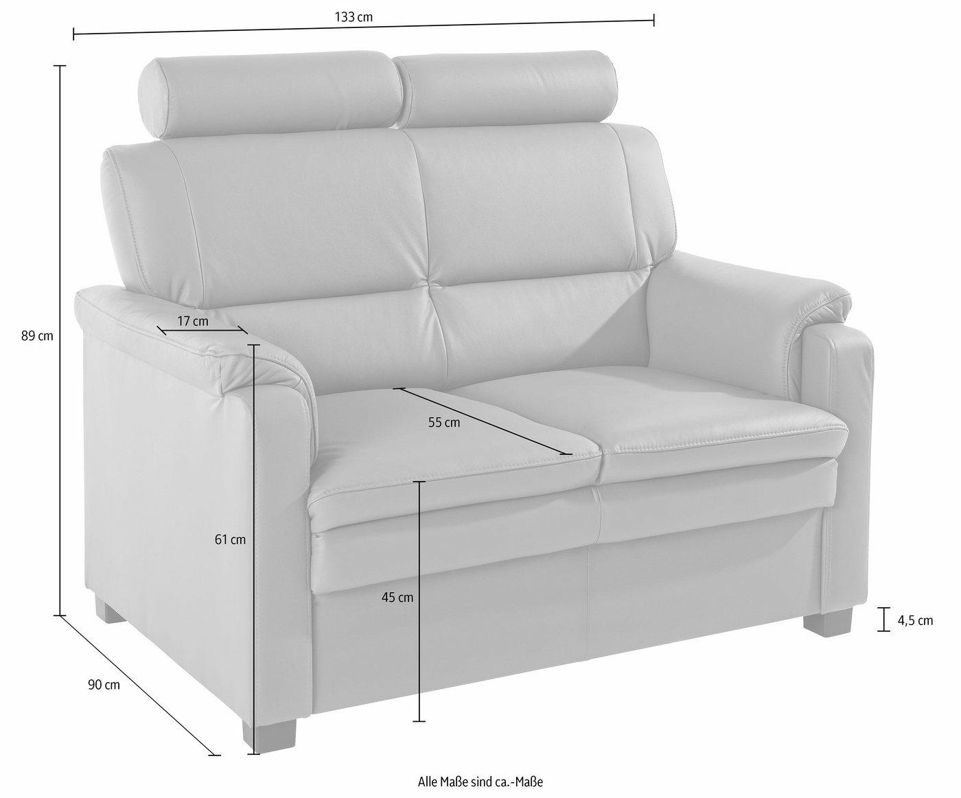 Raum.id 2-Sitzer, mit Federkern