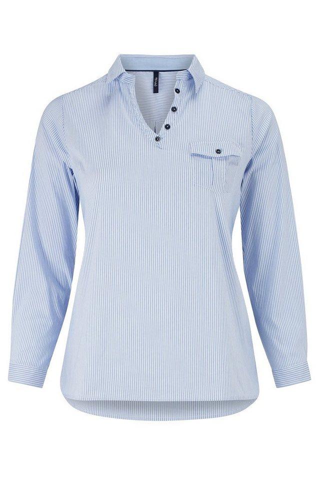 Paprika Klassische Bluse in blau