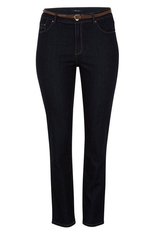 Paprika 5-Pocket-Jeans »Jeans mit 5 Taschen, SLIM« in blau