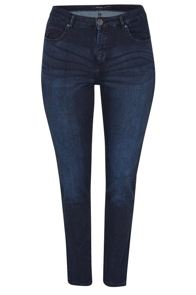 Paprika 5-Pocket-Jeans in blau