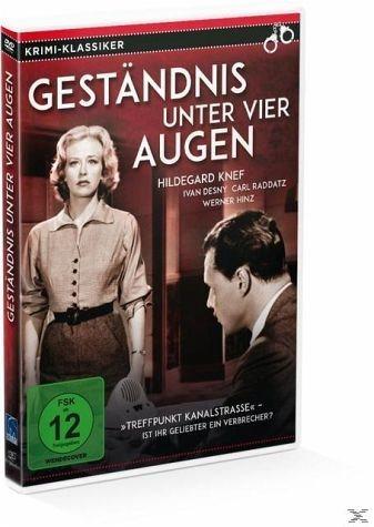 DVD »Geständnis unter vier Augen«
