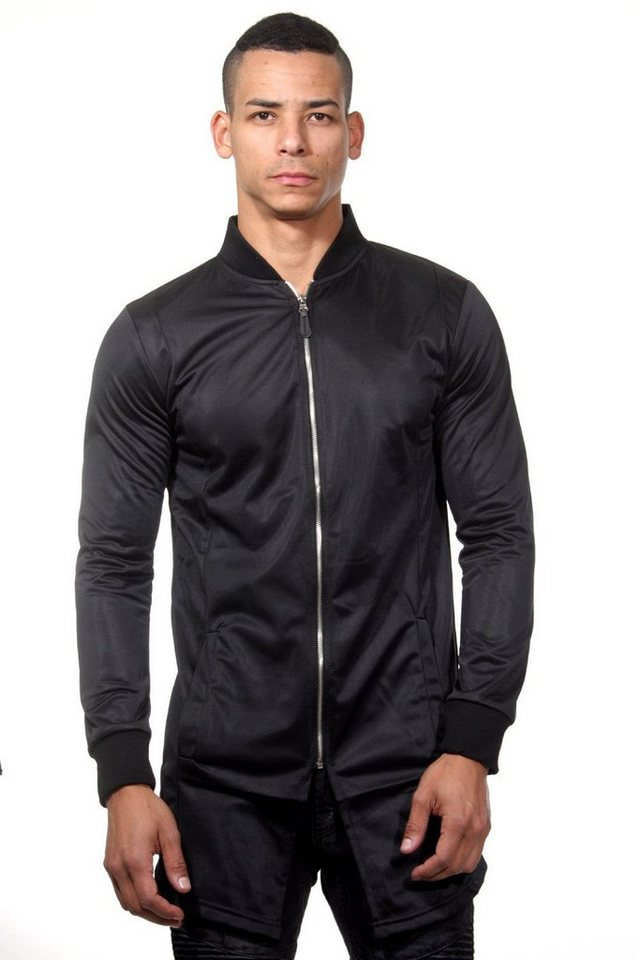 CATCH Jacke slim fit in schwarz