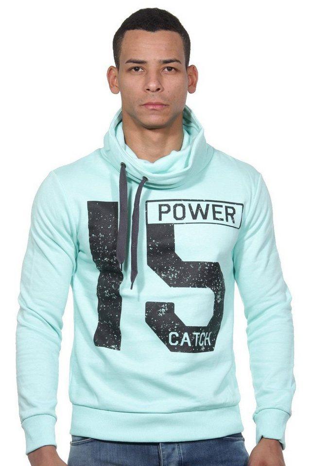 CATCH Sweater mit Rollkragen slim fit in mint