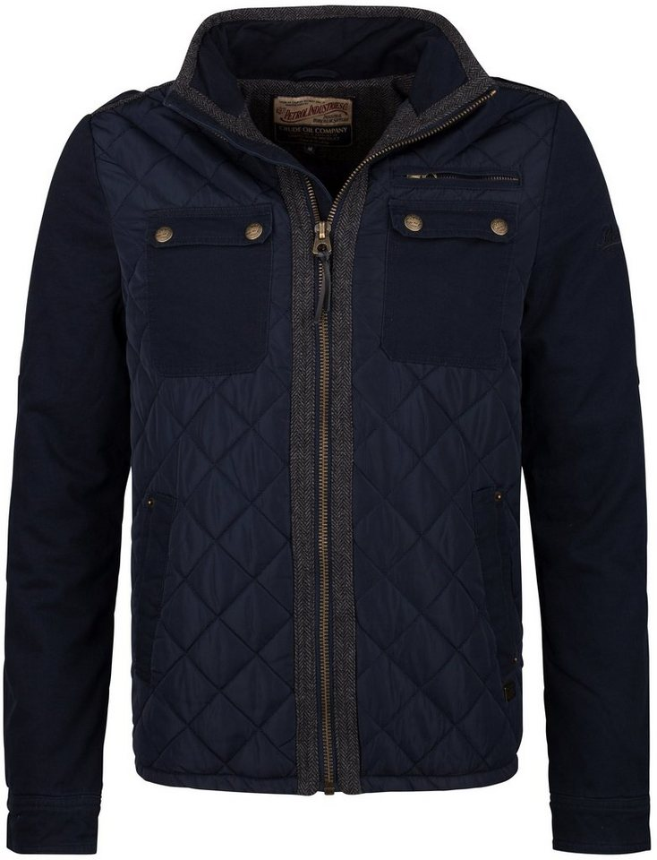 Petrol Industries Steppjacke in deep navy
