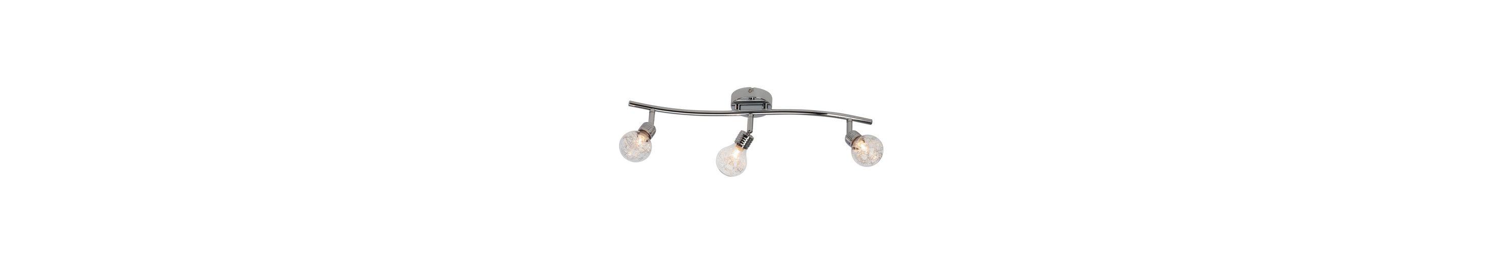 Brilliant Leuchten Bulb Spotrohr, 3-flammig chrom