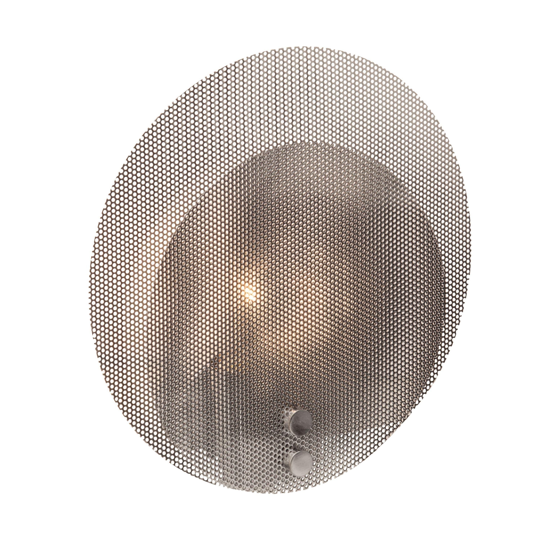Brilliant Leuchten Racket Wand- und Deckenleuchte chrom
