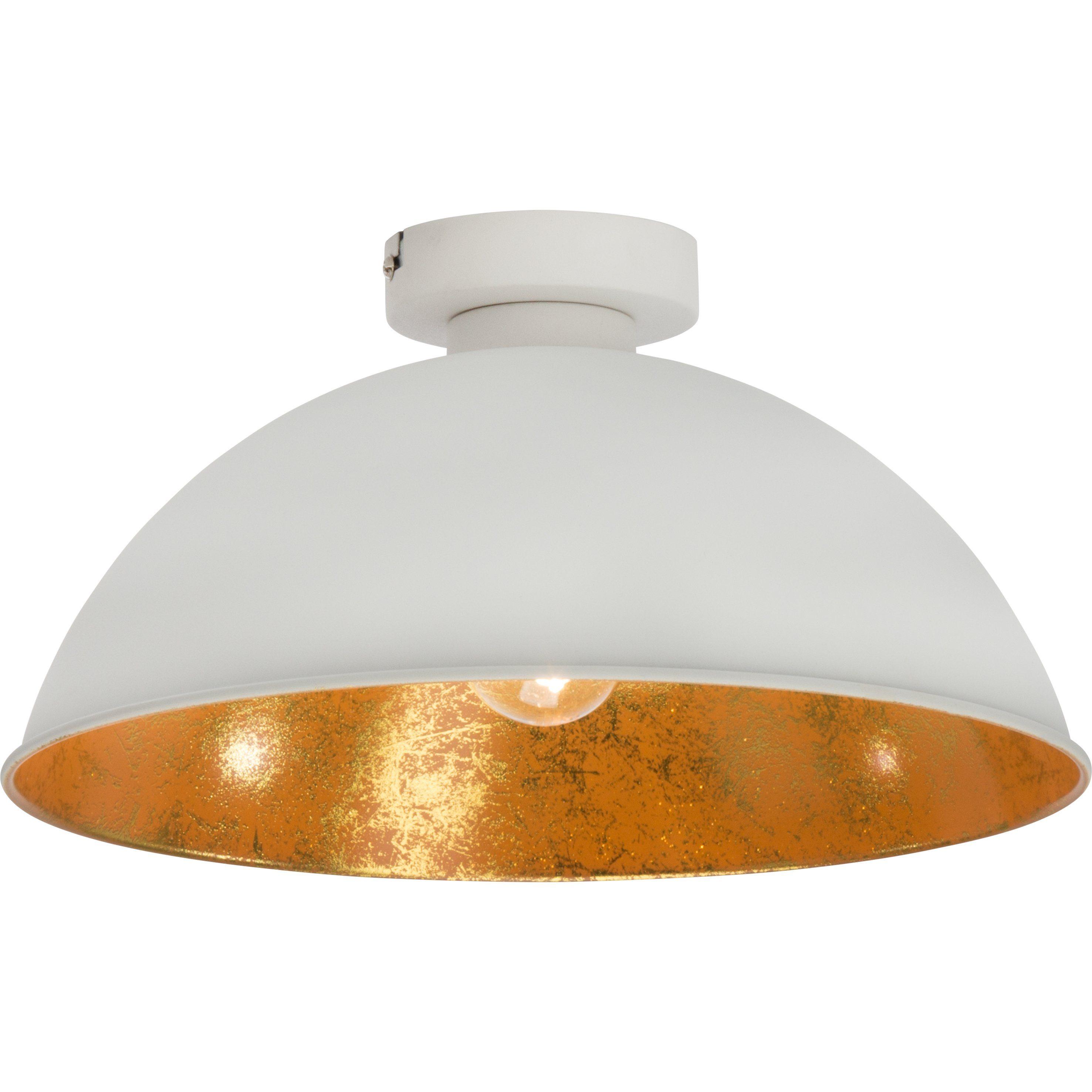 Brilliant Leuchten Aztekas Deckenleuchte, 1-flammig weiß/gold