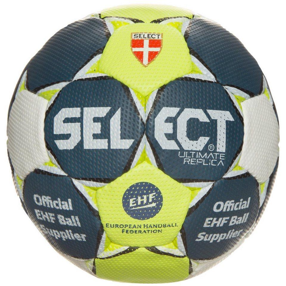 Select Ultimate Replica Handball in blau / gelb / weiß