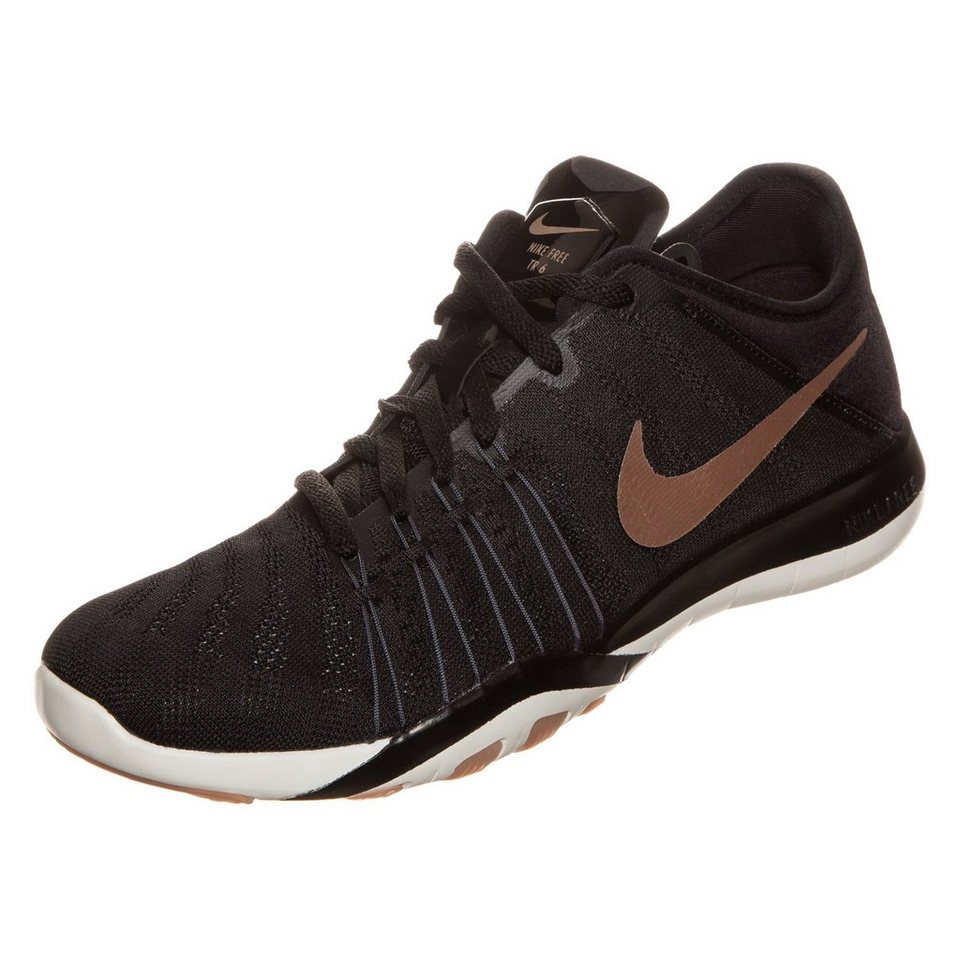 NIKE Free TR 6 Trainingsschuh Damen in schwarz / bronze