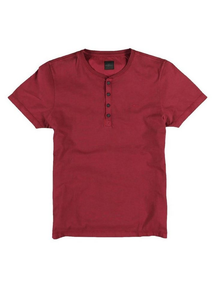 """engbers T-Shirt """"My Favorite"""" in Karminrot"""