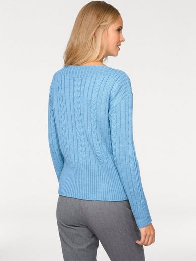 B.C. BEST CONNECTIONS by Heine Grobstrickpullover mit Zopf-Muster